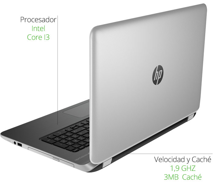 microprocesador HP Pavilion 17-f003ns